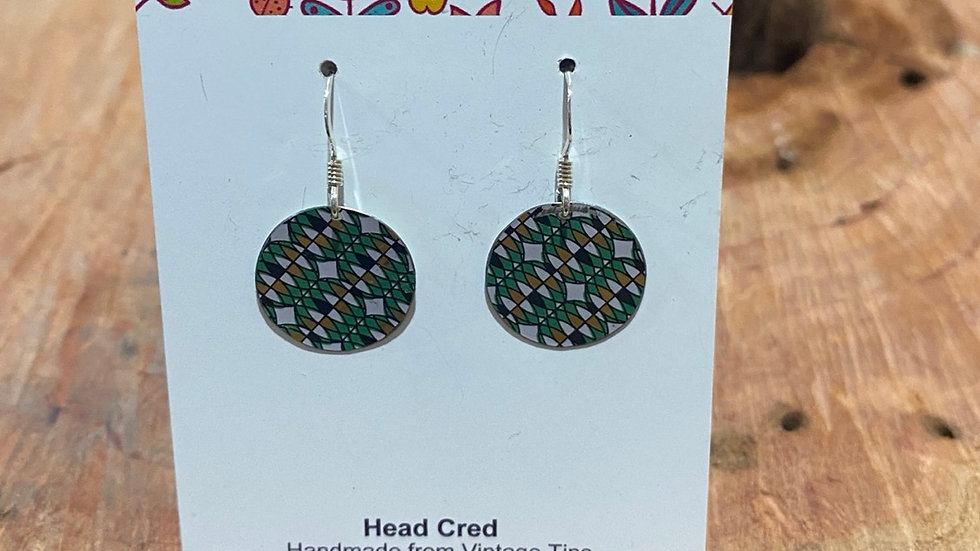 Earrings - Small round by Head Cred