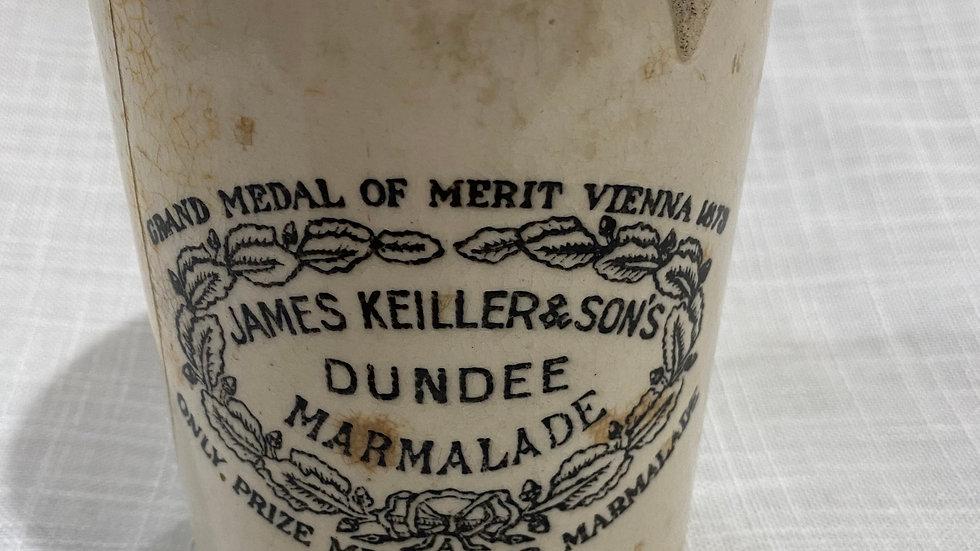 Antique stoneware crock - Dundee Marmalade