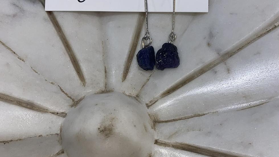 Earrings - Tanzanite Danglies