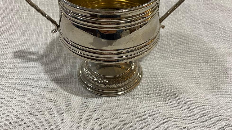 Trophy style sugar pot
