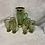 Thumbnail: Retro Green Glass Highball and Jug
