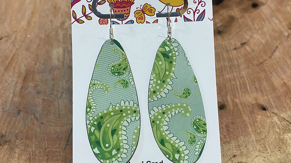 Earrings - Teardrops by Head Cred