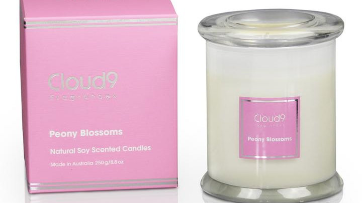 Candle - Peony Blossoms