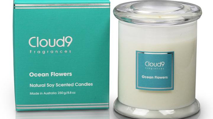 Candle - Ocean Flowers