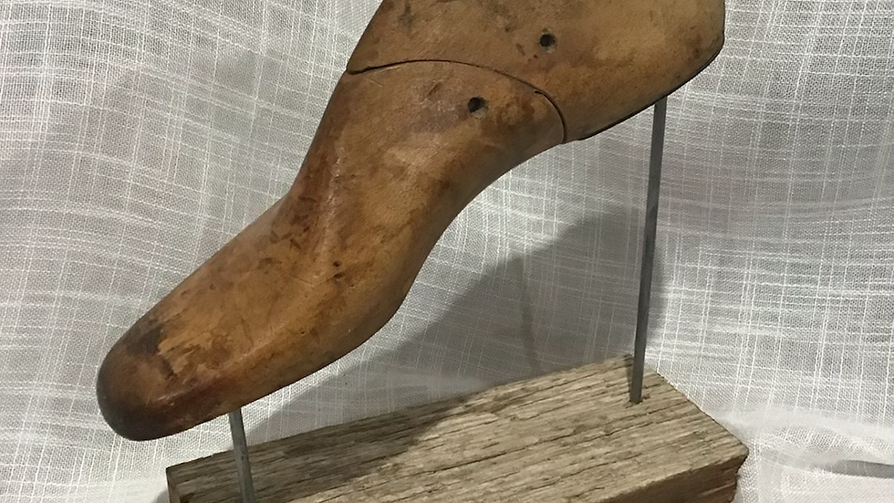 Shoe Last on Stand - Right