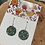Thumbnail: Earrings - Small round by Head Cred