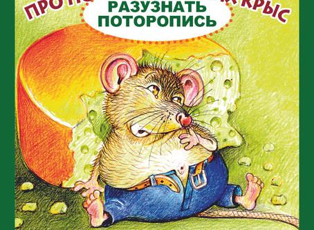 Символ 2020 года - крыса. А вы знаете сколько может съесть этот зверёк?