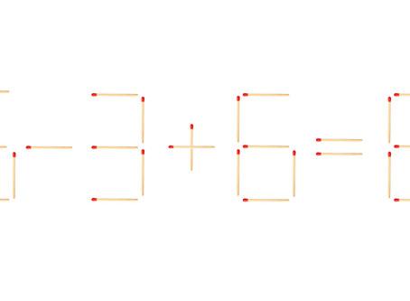 Математические спички