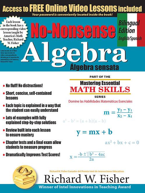 No-nonsense Algebra Bilingual Edition  English/Spanish