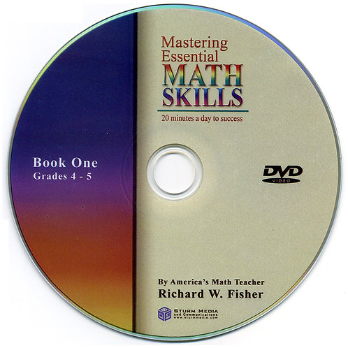 Mastering Essential Math Skills  Book One  DVD Only