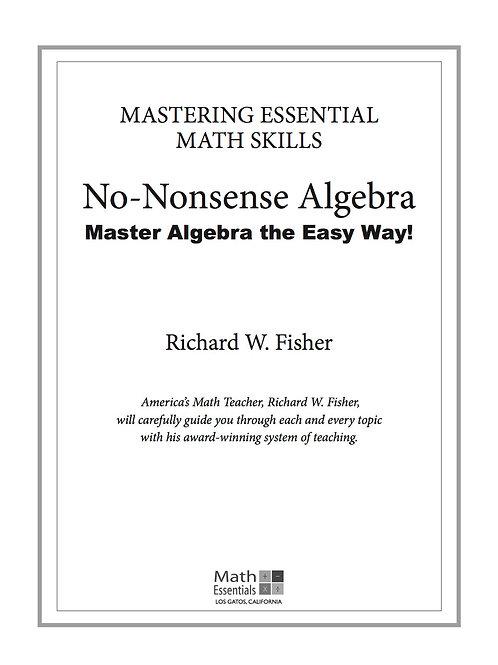 No-Nonsense Algebra Digital Download