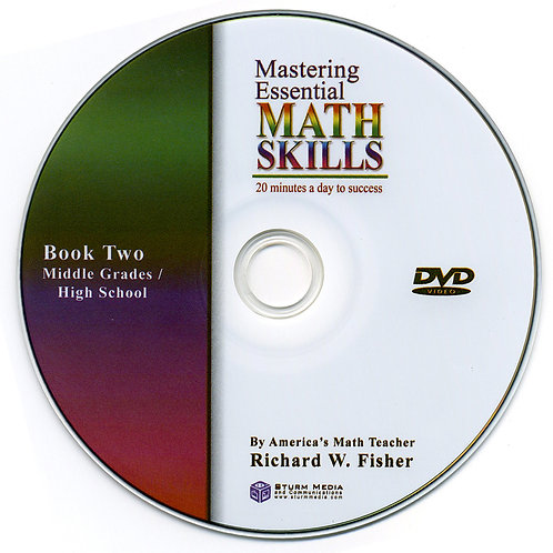 Mastering Essential Math Skills Book Two DVD Only