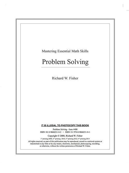 Problem Solving Digital Download