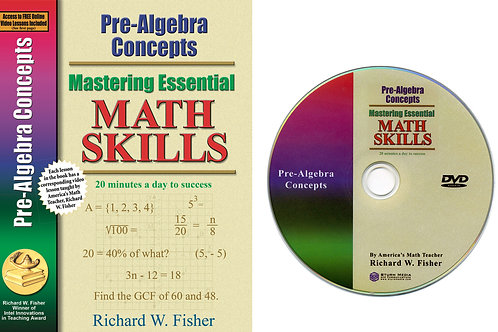 Pre-Algebra Concepts with DVD