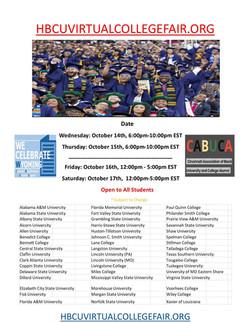 hbcu college fair flyer