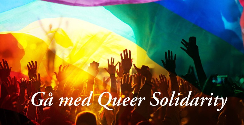 Pride Parade: Gå med Queer Solidarity