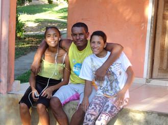 Família acolhida