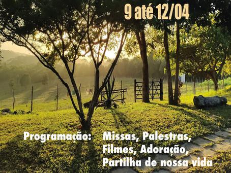 Retiro de Páscoa 2020 na Fazenda do Natal