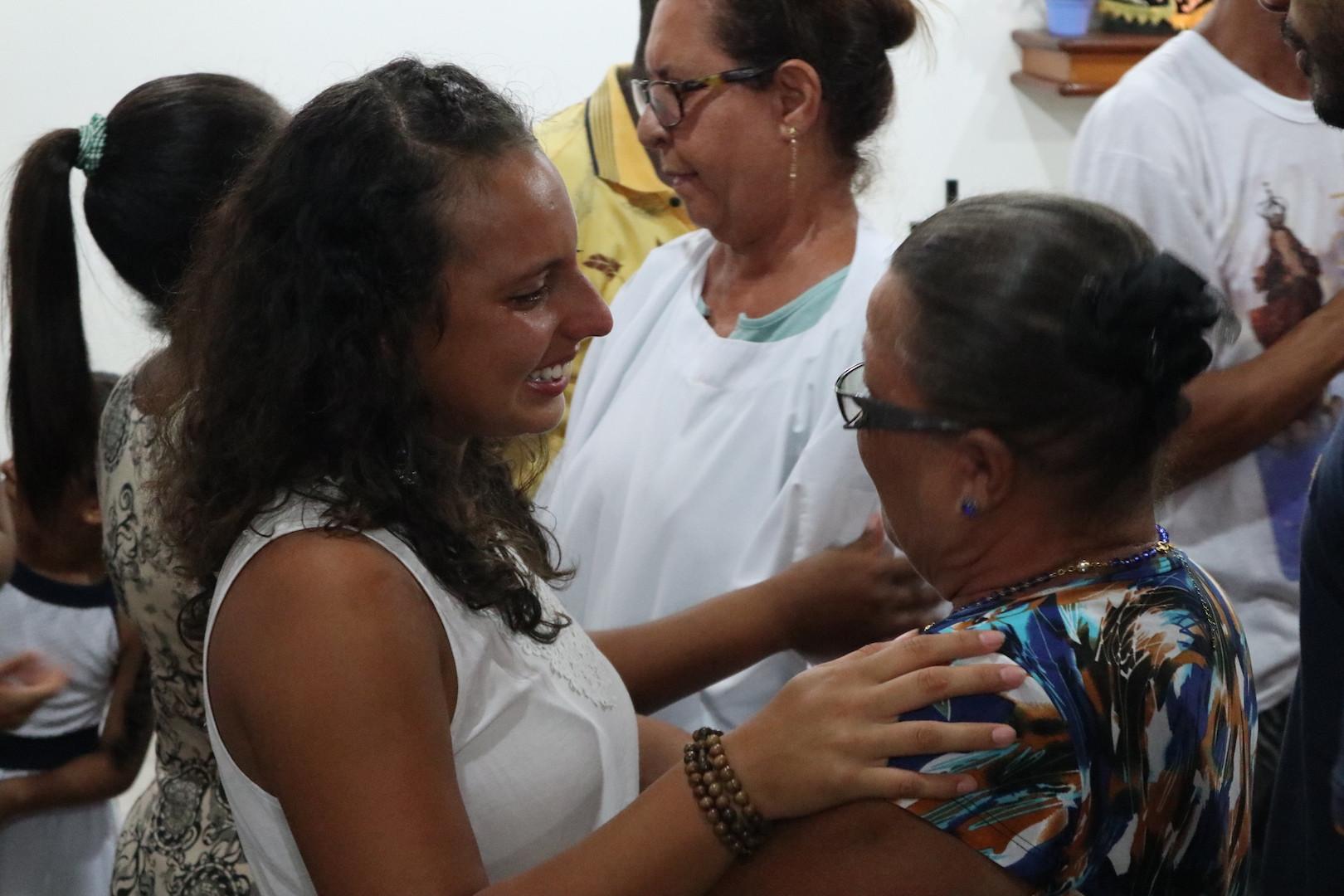 Natalia, voluntária do Costa Rica