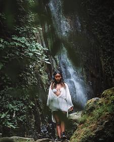 Topical Life - Bali Travel Photography - Waterfall Photo Portrait
