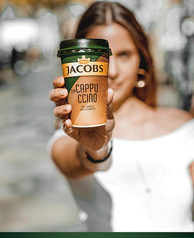 Jacobs Coffee Cold Campaign - Product Photo