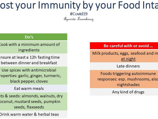 Learn how to boost your immunity