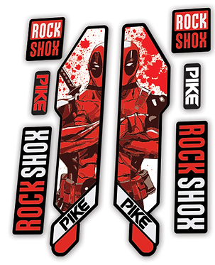Rockshox Pike 2014 Deadpool Edition