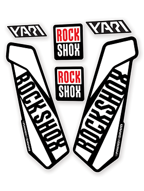 Rockshox Yari Custom Fork decals and Stickers