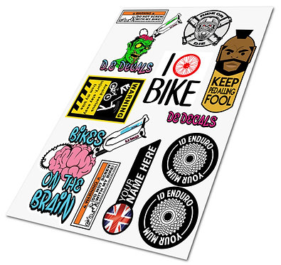 DEDecals sticker pack 1