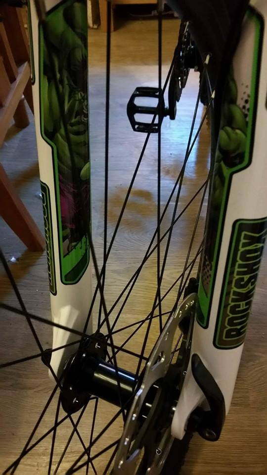 custom hulk rockshox pike decals