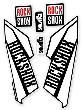 Rockshox Lyrik Custom Fork decals and Stickers