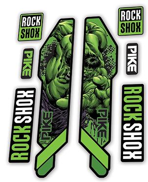 Rockshox Pike 2014 Hulk Edition