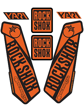Rockshox Yari Custom Fork decals and Stickers