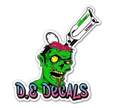 Dedecals Zombie Sticker