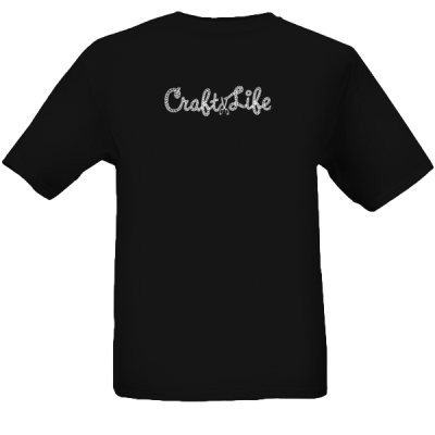 Adult Black Official Craft Life Rope Logo T-Shirt