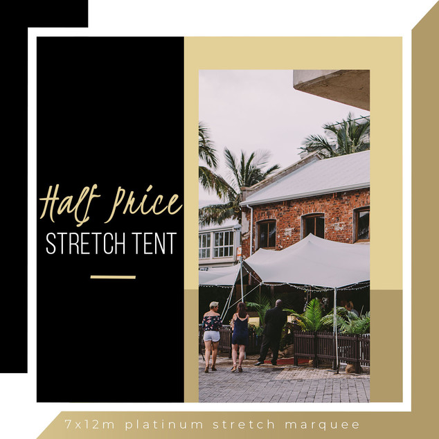 Half price stretch marquee