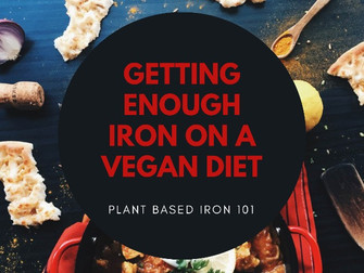 Getting Enough Iron on a Plant Based Diet