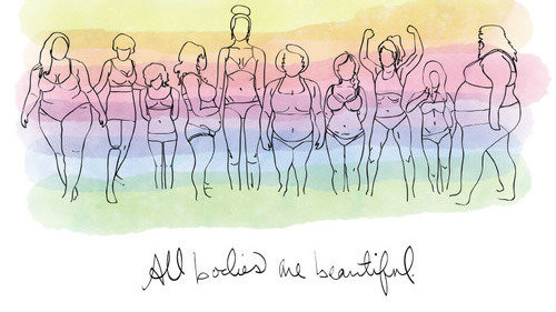 Clothing sizes and self worth.
