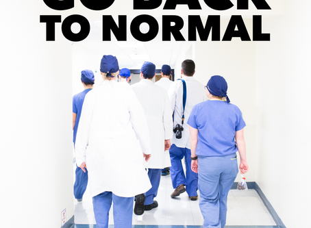 """""""Go back to normal."""""""