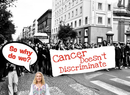 Cancer doesn't discriminate.