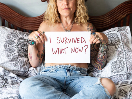 Is surviving the hardest part of going through cancer?
