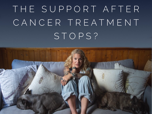 What happens to all the support after cancer treatment stops?