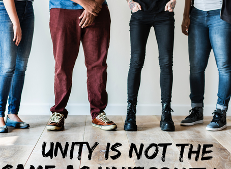 Unity is not the same as Uniformity