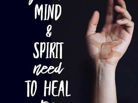 Mind, body and spirit.