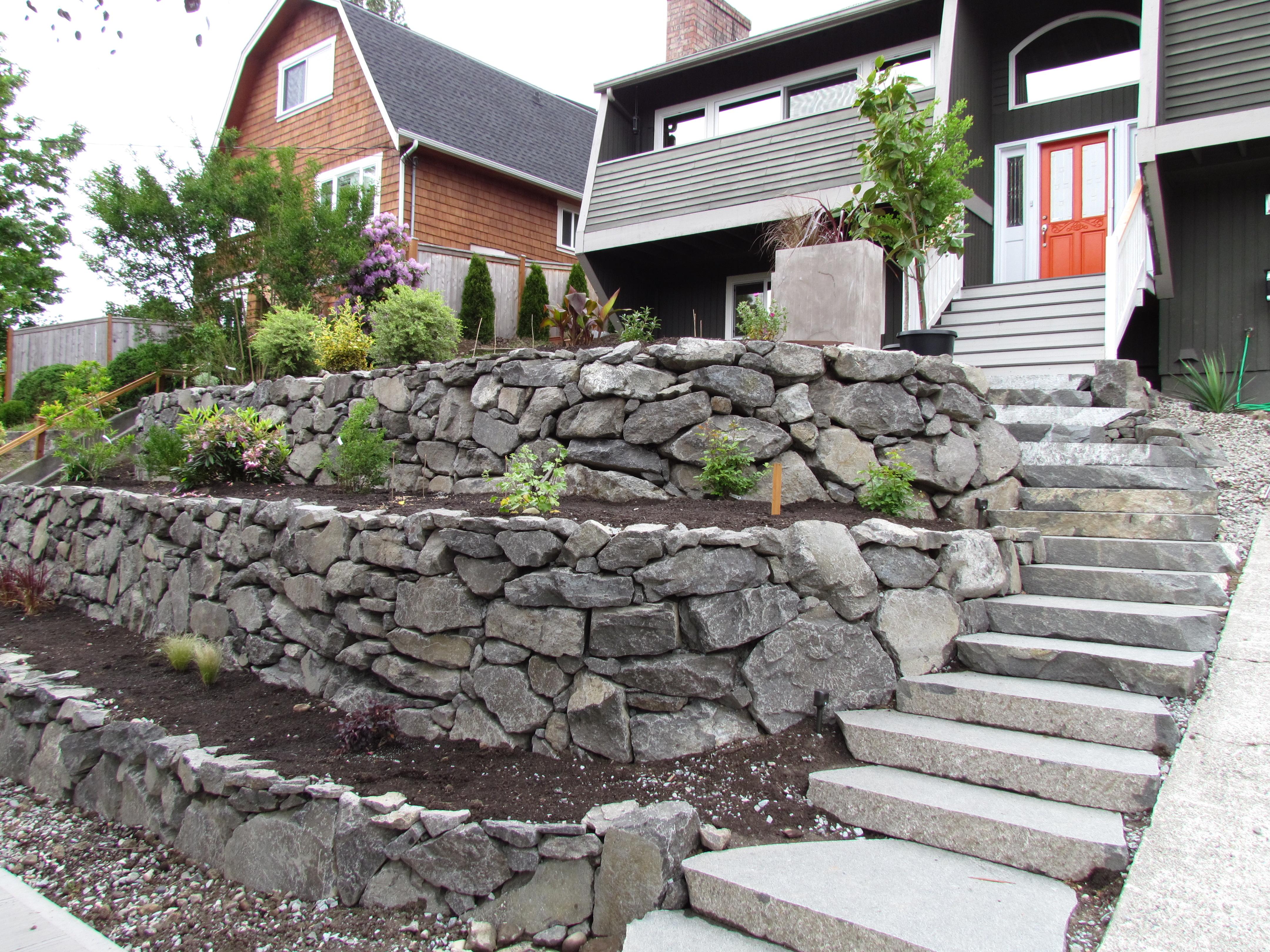 Rockery garden