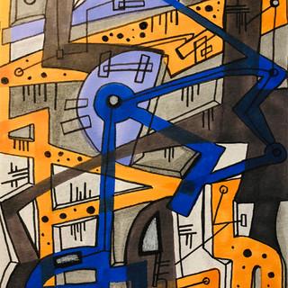 Kinetic Abstraction No_47 Artist Dixon 7