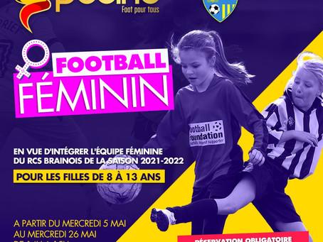 Projet pour le foot féminin au RCSB