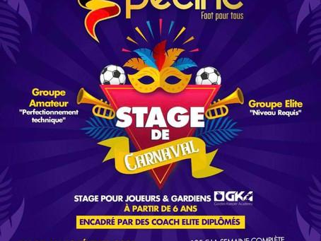 Stage de Carnaval en collaboration avec Belgium Specific
