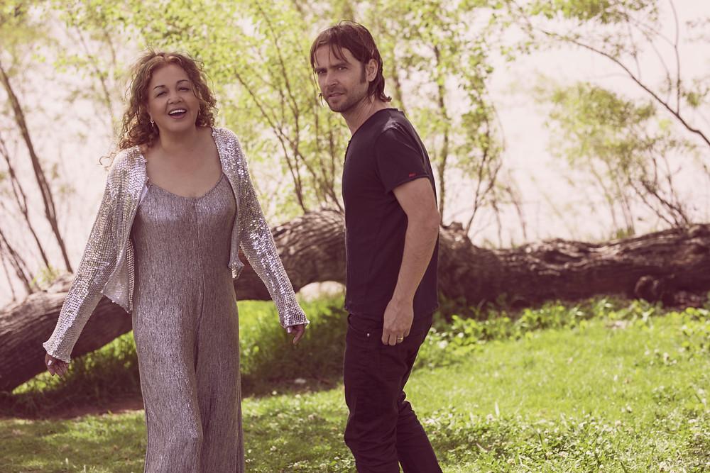 פיטר רוט ומזי כהן | צילום: רונן פדידה