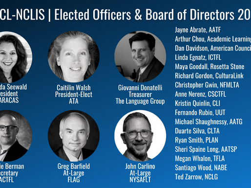 JNCL-NCLIS Welcomes 2021 Elected Officers and Board of Directors